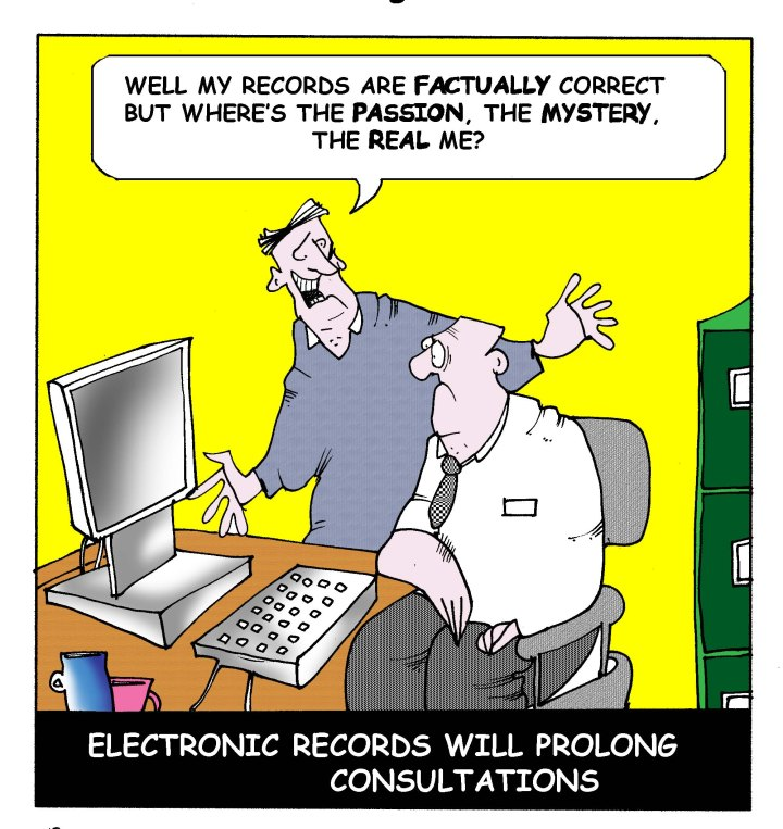 electronic records will prolong consolulations